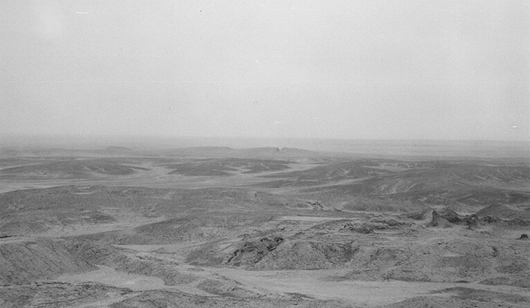A view of the site of the city of Uruk in southern Iraq