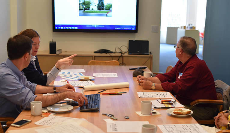 The Architect is IN provides a one-day strategy session for nonprofits to present their needs.