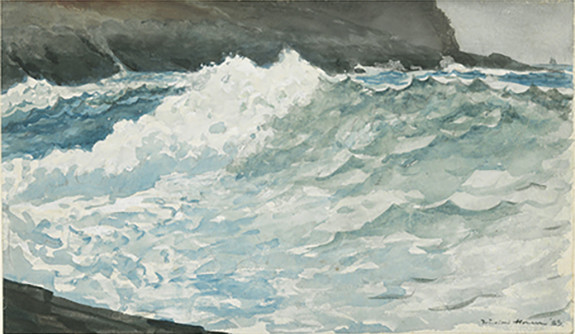 Winslow Homer, 'Surf, Prout's Neck'