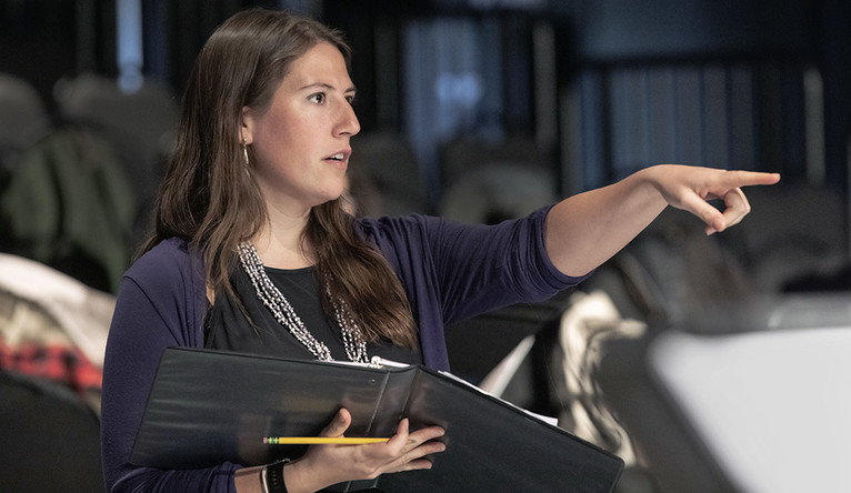 Madeline Sayet directs a play