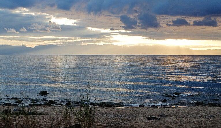 Lake Malawi in eastern Africa.