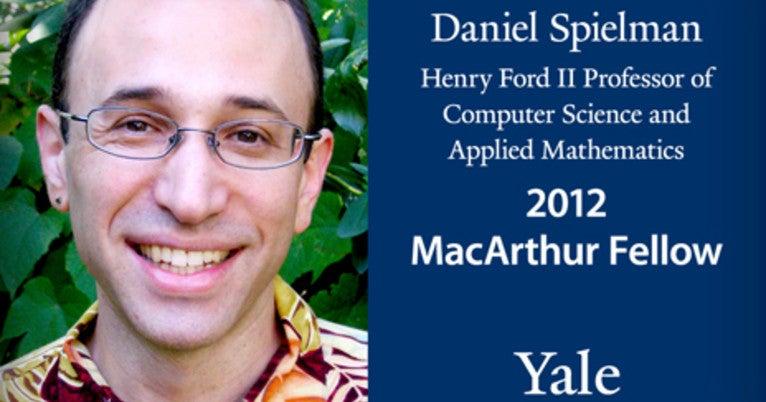 Yale computer scientist named MacArthur Fellow | YaleNews