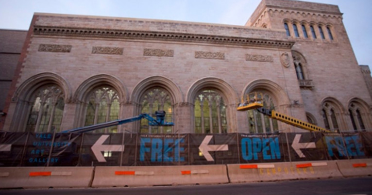 Art Calendar Yale : Yale university art gallery announces million gift to