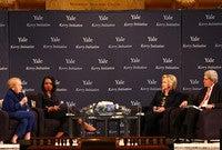 Madeleine Albright, Condoleeza Rice, Hillary Clinton, John Kerry