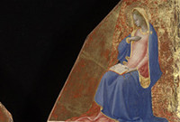 Detail from a painting by Fra Angelico.