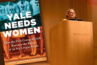 Ann Perkins and the Yale Needs Women book cover