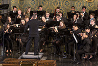 Yale Concert Band in performance.