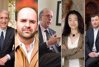 Peter Salovey, Nuno Monteiro, Stephen Roach, Jing Tsu, and Aleh Tsyvinski