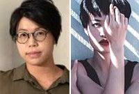 Artists Sarah Xiao and Nicole Pun