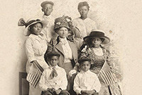 A black family from the early 20th century.