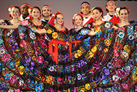 The student dance group Ballet Folklorico Mexicano de Yale.