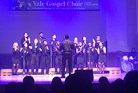 Yale Gospel Choir in concert.