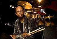 Jazz drummer Louis Hayes