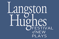 The logo of the Langston Hughes Festival of New Plays, depicting those words.