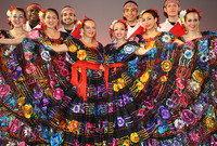 A photo of Ballet Folklorico Mexicano de Yale, a student dance group.