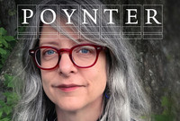 Lisa Margonelli with Poynter logo