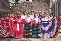 The student singing group Ballet Folkloriko Mexicano de Yale.