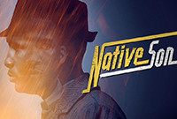 """The poster for the play titled """"Native Son"""""""