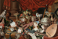 """Detail from the painting known as """"The Paston Treasure."""""""