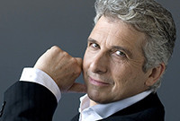 Orchestra conductor  Peter Oundjian.