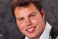 Photo of organist Nicholas Quardokus.
