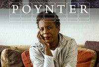 Claudia Rankine with Poynter Fellowship logo