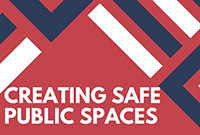 """A detail from a poster titled """"Creating Safe Public Spaces."""""""