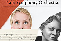 Poster for a Yale Symphony Orchestra concert.