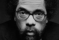 A photo of professor Cornel West.