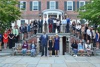 Winners of the 2018 Yale-Seton Book Awards.