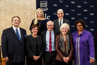 Yale Medal winners during the AYA Assembly and Alumni Fund Convocation.