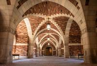 Passageway in the Humanities Quadrangle