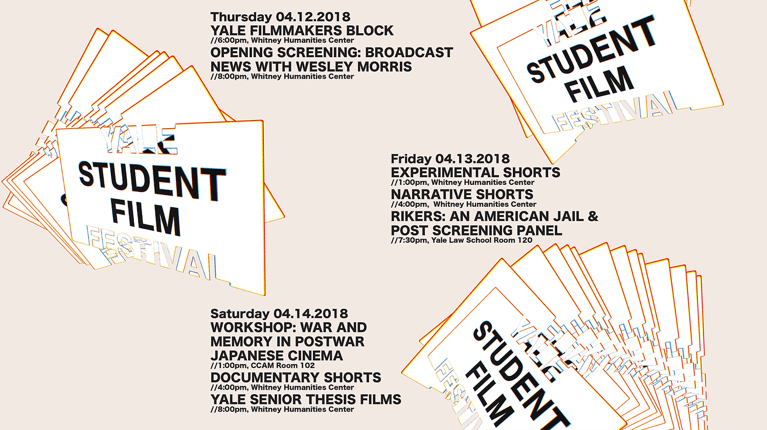Film As Activism This Week At The Yale Student Film Festival 2018